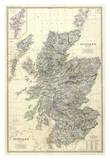Composite: Scotland, c.1861 Affiches par Alexander Keith Johnston