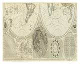 General Map of the World, or Terraqueous Globe, c.1787 Prints by Samuel Dunn