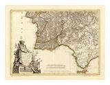 Portugal, Algarve Meridionale, c.1780 Prints by Giovanni Antonio Bartolomeo Rizzi Zannoni