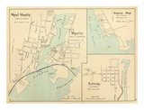 West Mystic, Mystic, Connecticut, c.1893 Prints