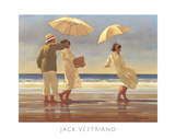 The Picnic Party II Posters van Jack Vettriano