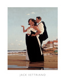 L'homme manquant II Affiches par Jack Vettriano