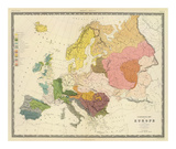 Ethnographic, Europe, c.1856 Prints by Gustaf Kombst