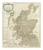 Composite: Scotland or North Britain, c.1790 Poster by Robert Campbell