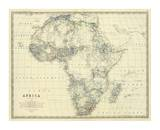 Africa, c.1861 Láminas por Alexander Keith Johnston