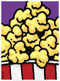 POPcorn Poster by Ed Heck