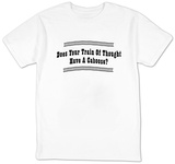 Train Of Thought T-shirts