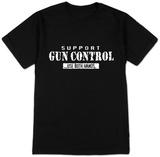 Support Gun Control: Use Both Hands Vêtement