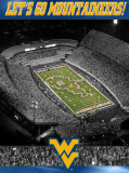 West Virginia University- Stadium Shot Photographie