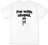 I'm With Stupid Shirts