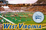 West Virginia University-Stadium Shot Of Football Field Photographie