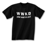 WWKD - What Would Kirk Do Tshirts