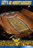 West Virginia University-Stadium Shot Photographie