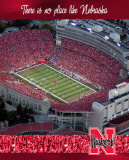 University of Nebraska-Stadium Shot Photo