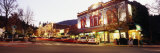 Cars Parked at the Roadside, Ashland, Oregon, USA Photographic Print by  Panoramic Images