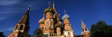Low Angle View of a Cathedral, St. Basil's Cathedral, Red Square, Moscow, Russia Photographic Print by  Panoramic Images