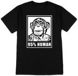 95% Human T-Shirt T-shirts