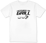 Licensed To Grill T-shirts