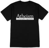 Atheism - a nonprofit organization T-shirts