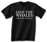 Save The Whales - Collect the Whole Set T-Shirt