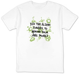 Aliens Forget to Remove Probe Shirt