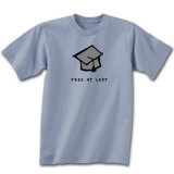 Free At Last Graduation T-shirts