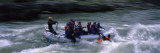 Tourists Rafting in the River, Snake River, Wyoming, USA Photographic Print by  Panoramic Images