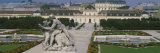 Garden in Front of a Palace, Belvedere Gardens, Vienna, Austria Photographic Print by  Panoramic Images