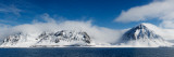 Snow Covered Mountains, Magdalene Fjord, Spitsbergen, Svalbard Islands, Norway Photographic Print by  Panoramic Images
