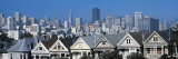 Victorian Houses Steiner Street, San Francisco, CA, USA Photographic Print by  Panoramic Images