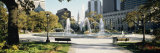Fountain in a Park, Swann Memorial Fountain, Logan Circle, Philadelphia, Philadelphia County Photographic Print by  Panoramic Images
