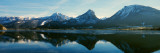 Reflection of Mountains in a Lake, Wolfgangsee, St. Wolfgang, Salzkammergut, Upper Austria, Austria Photographic Print by  Panoramic Images