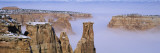 Canyons Covered with Fog, Independence Monument, Colorado National Monument, Mesa County Photographic Print by  Panoramic Images