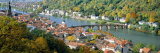 Aerial View of Heidelberg Castle, Heidelberg, Baden-Wurttemberg, Germany Photographic Print by  Panoramic Images