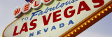 Close-up of a Welcome Sign, Las Vegas, Nevada, USA Photographic Print by  Panoramic Images