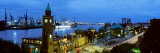 Germany, Port Hamburg Photographic Print by  Panoramic Images