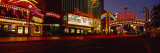 Traffic on a City Street, Virginia Street, Reno, Nevada, USA Photographic Print by  Panoramic Images
