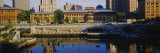 Buildings in a City, Waterplace Park, Providence, Rhode Island, USA Photographic Print by  Panoramic Images
