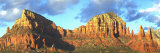 Chapel on Rock Formations, Chapel of the Holy Cross, Sedona, Arizona, USA Photographic Print by  Panoramic Images