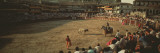 Spectators Watching Bullfighting in a Stadium, Spain Photographic Print by  Panoramic Images
