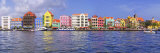 Buildings at the Waterfront, Willemstad, Curacao, Netherlands Antilles Photographic Print by  Panoramic Images