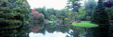 Pond in a Garden, Asticou Azalea Garden, Northwest Harbor, Maine, New England, USA Photographic Print by  Panoramic Images