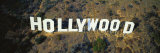 California, Los Angeles, Aerial View of Hollywood Sign at Hollywood Hills Photographic Print by  Panoramic Images