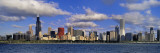 Illinois, Chicago, Panoramic View of an Urban Skyline by the Shore Photographic Print by  Panoramic Images