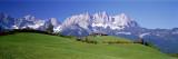 Ellmau am Wilden Kaiser, Tirol, Oostenrijk Fotoprint van Panoramic Images,