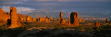 Rock Formations in a National Park, Arches National Park, Utah, USA Photographic Print by  Panoramic Images