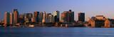 Dawn Boston, MA Stampa fotografica di Panoramic Images,