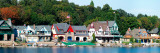 Boathouse Row at the Waterfront, Schuylkill River, Philadelphia, Pennsylvania, USA Photographie par  Panoramic Images