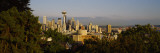 Skyscrapers in a City, Space Needle, Seattle, Washington State, USA Photographic Print by  Panoramic Images