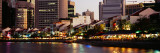 Buildings at the Waterfront, Singapore Photographic Print by  Panoramic Images